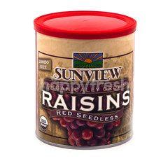 Sunview Red Seedless Jumbo Size Raisins