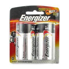 Energizer Max Batteries 1.5 Volt D LR20