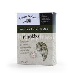 Thistle Be Good Green Pea, Lemon & Mint Risotto