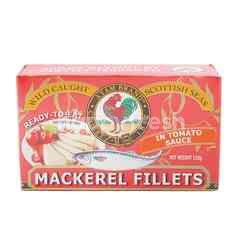 Ayam Brand Mackerel Fillets In Tomato Sauce