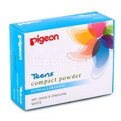 Pigeon Bedak Compact Putih Untuk Remaja