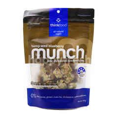 Think Food Hemp Seed Blueberry Munch Slow Dry Roasted Nutritious Snack