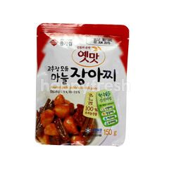 Daesang Assorted Garlic Pickle With Chilli Paste