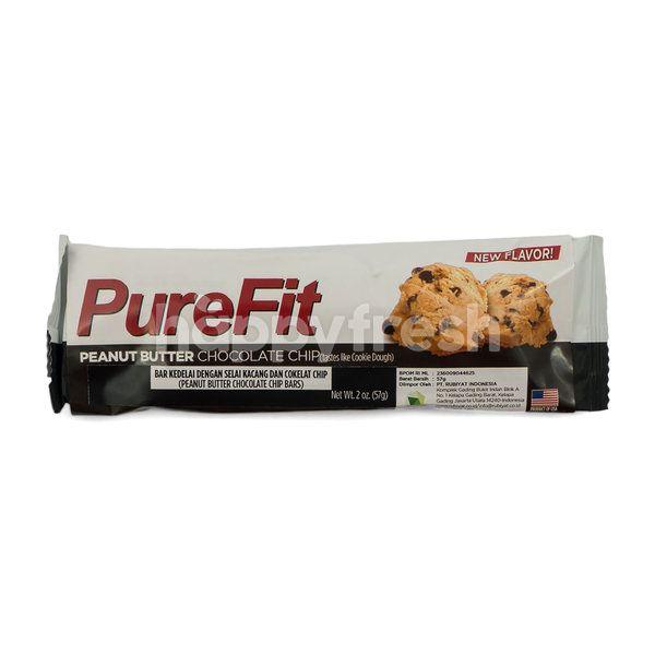 PureFit Peanut Butter Chocolate Chip Bar