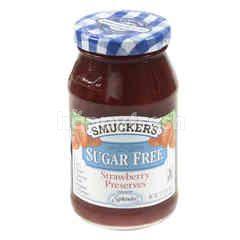 Smucker's Sugar Free Strawberry Preserves Jam