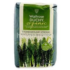 Waitrose Organic Stoneground Strong Wholemeal Bread Flour