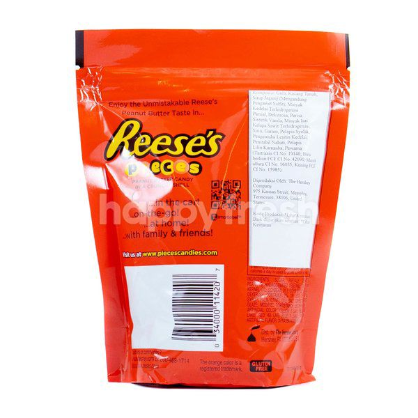 Reese's Pieces Peanut Butter Candy in a