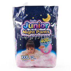 MamyPoko Popok Celana Tidur Bayi Perempuan Ukuran XXXL