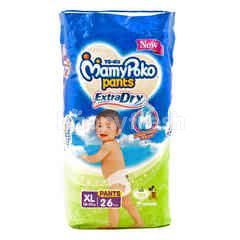 MamyPoko Extra Dry Baby Pants Diaper XL (26 pieces)