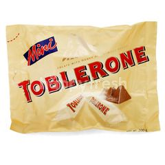 TOBLERONE Mini Swiss Milk Chocolate With Honey & Almond Nougat