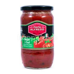 PAPA ALFREDO Tomat & Bawang Putih
