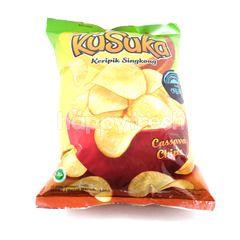 Kusuka Cassava Chips Original 400g