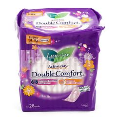 Laurier Active Day Double Comfort Super Slim Pads Non Wings (28 pads)