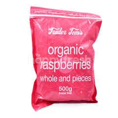 Trader Tom's Organic Raspberries Frozen Fruit