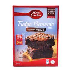 Betty Crocker Double Chocolate Fudge Brownie Mix
