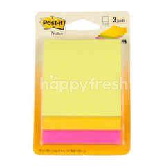 โพสต์-อิท กระดาษโน้ต ชนิดมีกาว คละสี