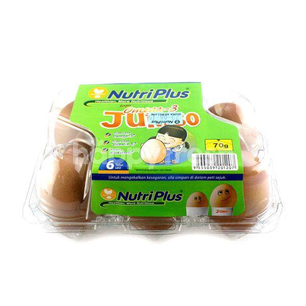 Nutriplus Omega-3 Jumbo Eggs
