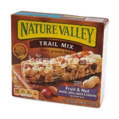 เนเจอร์วัลเลย์ ธัญพืชเคี้ยวหนึบชนิดแท่งผสมผลไม้และถั่ว