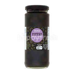 Tesco Pitted Black Olives In Brine