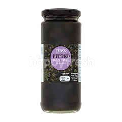 Tesco Pitted Black Olives In Brine