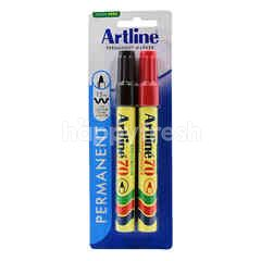 Artline 70 High Performance 1.5Mm Permanent Marker (2 Pieces )