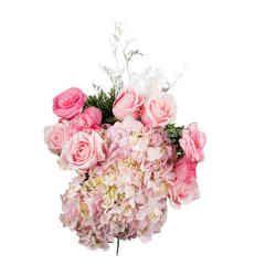 ฮาร์ทอิส เซ็ท D.I.Y. ดอกไม้สด สีชมพูคละชนิด พร้อมจัดด้วยตัวเอง