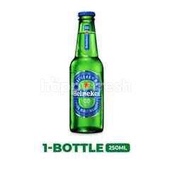 Heineken 0.0, Dealcoholised Beer Bottle 250ml