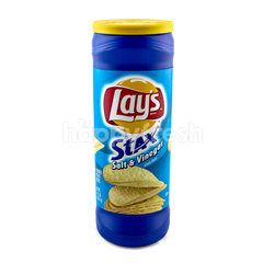 LAY'S Stax Salt & Vinegar