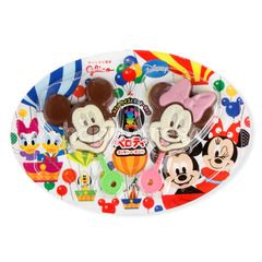 Glico Pelotty Micky Mouse & Minnie Mouse Chocolate