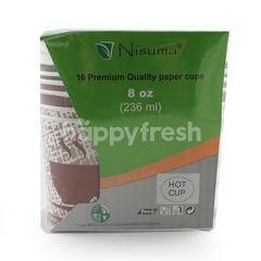 Nisuma 16 Paper Hot Cups