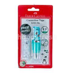Faber-Castell Correction Tape QAR-506 Warna Biru