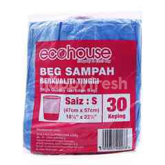 Eco House Garbage Bag S Size (30 Pieces)