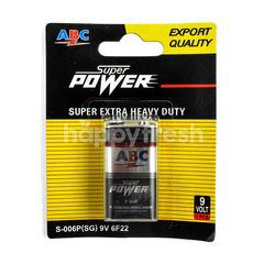 ABC Baterai Super Power 9V