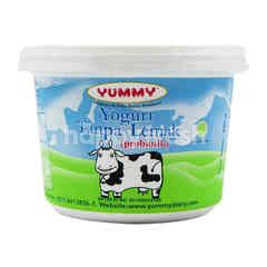 Yummy Plain Probiotic Skim Yogurt