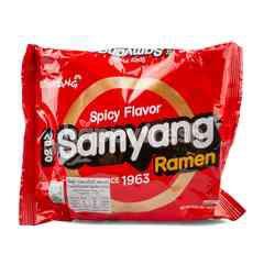 Instant Ramen Spicy Flavor