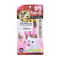 Ciao Chu Ru Grilled Tuna Crab Flavor Cat Treat