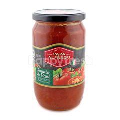 Papa Alfredo Tomato & Basil Italian Pasta Sauce