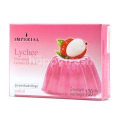 Imperial Gelatin Dessert Powder Lychee Flavour
