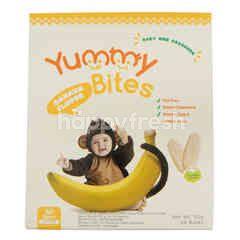 Yummy Bites Krakers Beras Bayi Rasa Pisang