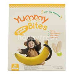 Yummy Bites Baby Rice Crackers Banana