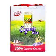 Pure Green Beras Putih Organik Butir Panjang