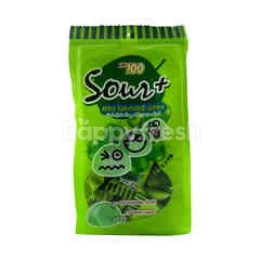 Lot100 Sour+ Apple Gummy (25 Pieces)