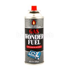 Gas Wonderfuel LPG (Liquefied Butane)