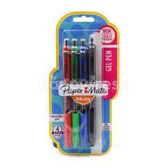 Paper Mate Gel Pen (4 Pieces)