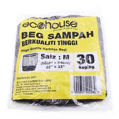 Eco House Garbage Bag M Size (30 Pieces)