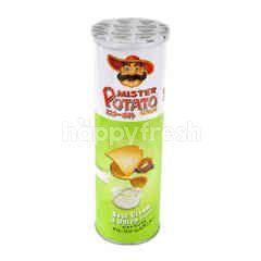 Mister Potato Sour Cream & Onion Potato Chips