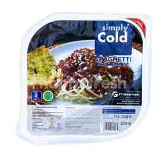 Simply Cold Spaghetti Bolognaise