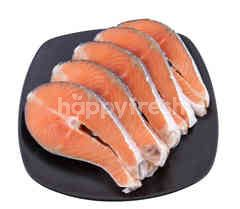 Food Diary Salmon Steak 200 g X 5 Pcs.