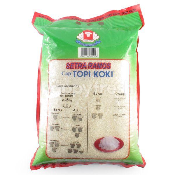 Topi Koki Setra Ramos White Rice