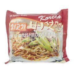 Segye Foods Korean Beef Mushroom Ramyun